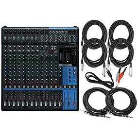 Yamaha Mg16xu 16-input 6 Bus Mixer Con Compresión, Efectos,