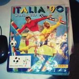 Album Figuritas Mundial Futbol Italia 90 Maradona Comp Rfan