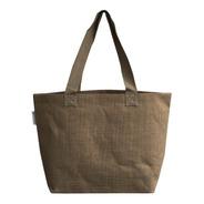 6 Bolsas Praia 100% Juta Ecobag Natural - Kit 6 Sacolas