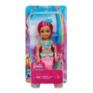 Boneca Barbie Chelsea Sereia Rosa - Melhor Preço Sj
