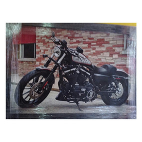 Cuadro Decorativo Moto, Motocicleta Caf 95x65 Envío Gratis