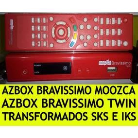 Azbox Bravissimo Twin Gz11 Y Moozca Gz12 Iks Publico/sks 87w