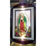 Cuadro De La Virgen En Repujado