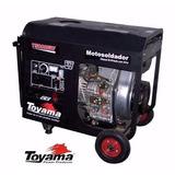Motosoldador Diesel 160amp 10 Hp Mod T5000ew Toyama