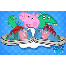 Zapatillas Pintadas/customizadas Personalizada Peppa Pig
