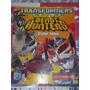 Album Transformers Prime Beast Hunters Figuras A Pegar Navar