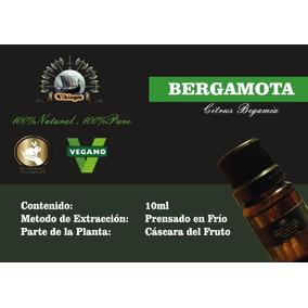 Aceite Escencial De Bergamota 100% Puro