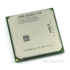 Processador Amd Athlon 64- 3700 - 3700dka5cf - Soquet 939