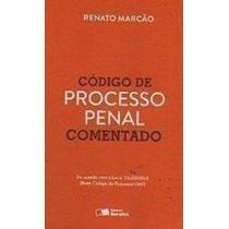 Livro Código De Processo Penal Anotado Renato Marcão