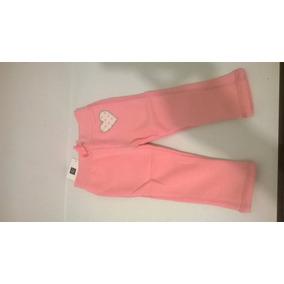Pantalon De Buzo Rosado Baby Gap