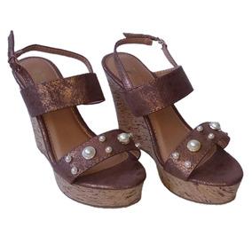 Plataforma Tacones Suecos Zapatos Damas Follies