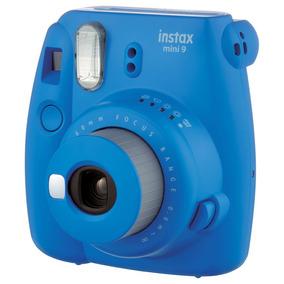Instax Mini 9 Fujifilm - Azul Cobalt