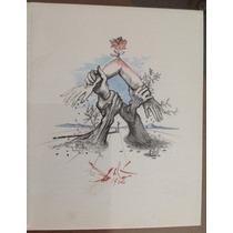 Salvador Dalí. Litografia Naciones Unidas. Numerada 35 Aniv.