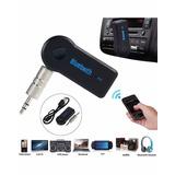 Bluetooth Receptor Manos Libres Aux 3.5 Stereo Musica Auto