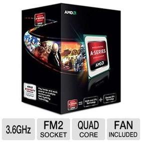 Procesador Amd A6 5400k Black Edition Nuevo