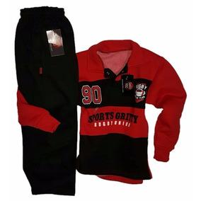 Sero950 Super Canchero Conjunto Jogging De Niño Estilo Rugby