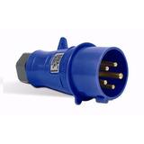 Plug Tomada Blindada N3076 16a-6h/200-250v 2p+mch(azl) Steck