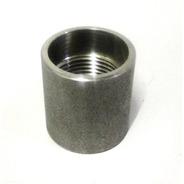 Luva Aço Inox 304  Rosca 1 Bsp Para Solda Em Tubo