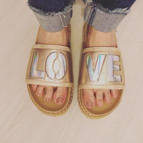 Sandalias Bajas De Verano Para Playa Love