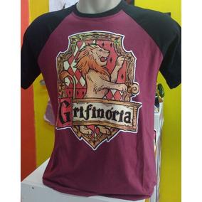 Camiseta Grifinoria Harry Potter Camisa