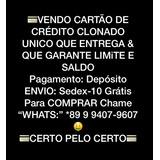 Portas, Cartão Clonadoo - Garantia De Limite Promoção 2018