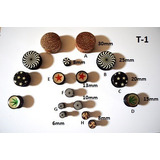 Tuneles 1.5/2mm/3mm/4mm/5mm/6mm/8mm/10mm/12mm/14mm/20mm/25mm