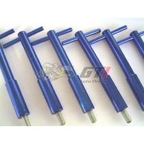 Wing Nut Motor Gm Opala 4cc / 6cc Alumínio Azul
