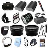 Paquete De Accesorios Ultra Profesional: Para Cámaras Nikon