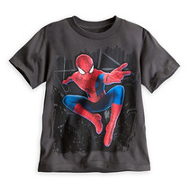 Remera Disney Store Spiderman Super Heroes Talle 4 Y 5/6
