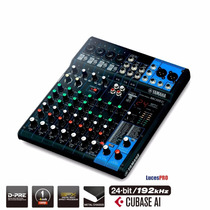 Consola Yamaha Mixer 10 Canales Linea Nueva Mg10xu