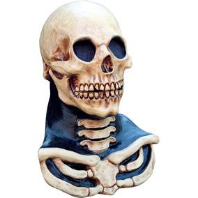 Máscara Calavera Cuello Long Neck Skull Halloween Craneo