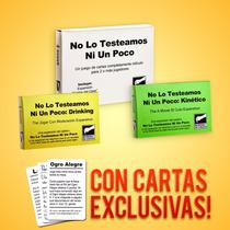 No Lo Testeamos + Drinking + Kinético + Cartas Extra!!!
