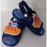 Sandalias Colore Navio Azul Marinho - Pimpolho
