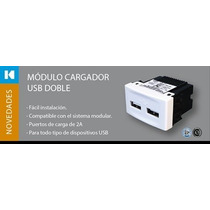 Toma Cargador Rapido Usb De Pared, Kalop Doble 2 A +regalos
