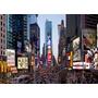 Cuadro De New York En Tela Canvas Sobre Bastidor, 135x90
