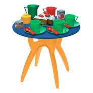 Mesa Con Juego De Té. Juguete Petit Gourmet