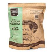 Monedas De Chocolate 80% Cacao Oscuro