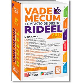 Vade Mecum Compacto De Direito Rideel - 2017