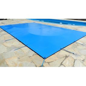 Capa De Piscina 2 Em 1- Proteção+termica 4,5m X 2,5m Pvc