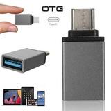 Adaptador Otg Usb 3.0 Tipo C, Imac, Lg, Moto Z, Galaxy S8 +