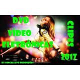 Dvd - 50 Vídeo Clipes Eletrônicas 2017