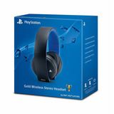 Auricular Sony Ps4 Ps3 Pulse Gold 7.1 Headset Inalambrico