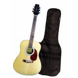 Guitarra Acustica Vantage Vd100 By Samick - Funda De Regalo