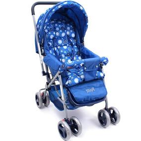 Carrinho De Bebê Berço Blue Até 15kg Petit Bambino