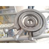 Juego Quemador Estufa Industrial Q70+q50+q25 Aluminio