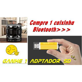 Caixinha Som Bluetooth Mp3 Com Microfone