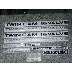 Calcos Suzuki + Swift 1.3 Gti + Lat. Twin Cam + Bajo Capot