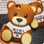 Capa Case Urso Teddy Bear Moschino Toy Iphone 4 E 4s