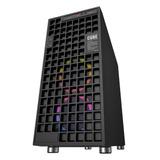 Gabinete Gamer Cube Eagle Warrior Con Leds Multicolor