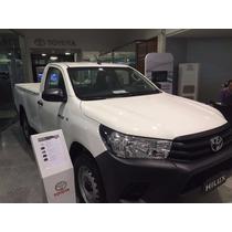 Toyota Hilux Cabina Simple 4x4 Blanca Entrega Abril